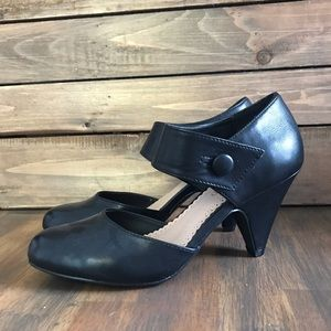 "Restricted Black ""Chatroom"" Vintage Mary Jane Heel"